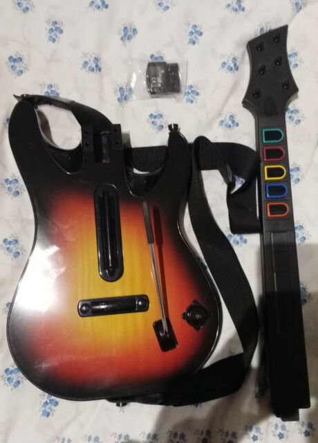 Chitarra Guitar Hero wireless per PS2