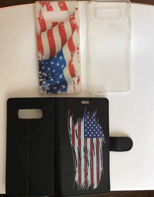 Cover varie nuove Samsung Galaxy Note 8 nuove mai usate