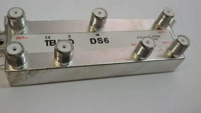 Divisori segnale antenna tv e sat teleco