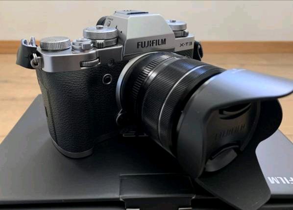 Fujifilm X-T3 Silver Kit obiettivo XF mm, come nuova