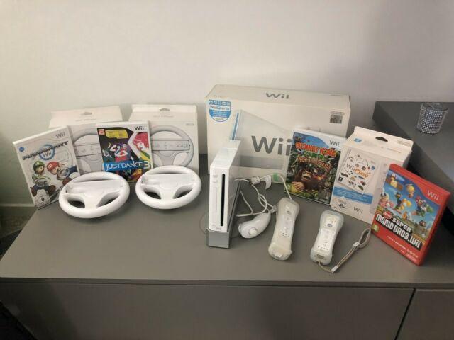 Wii bianca + accessori + giochi
