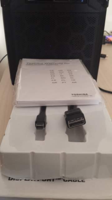cavo adattatore Mini DisplayPort a DisplayPort