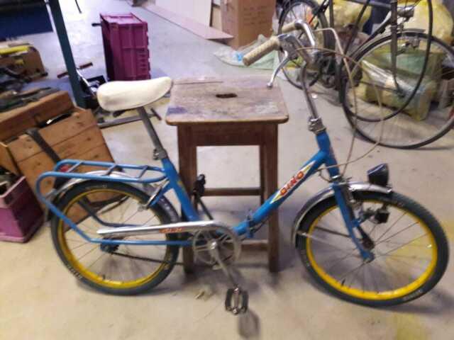 Bicicletta Pieghevole 20 Raleigh.Bicicletta D39epoca Cicalina Colmer Tipo Eterno Posot Class