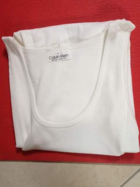 Canotta bianca Calvin Klein