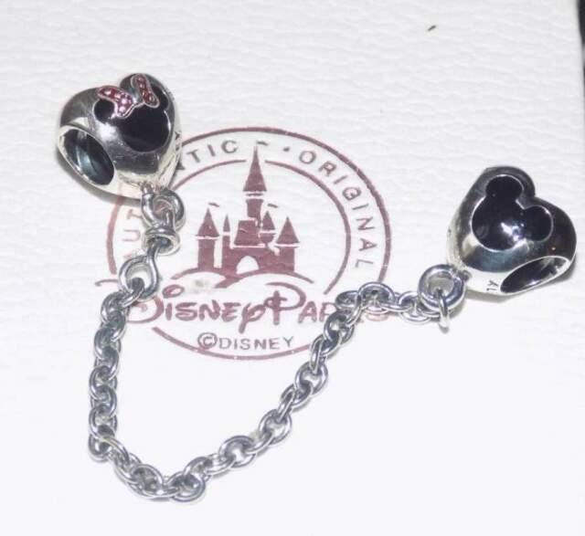 Pandora Disney Catena Sicurezza Minnie e Mickey