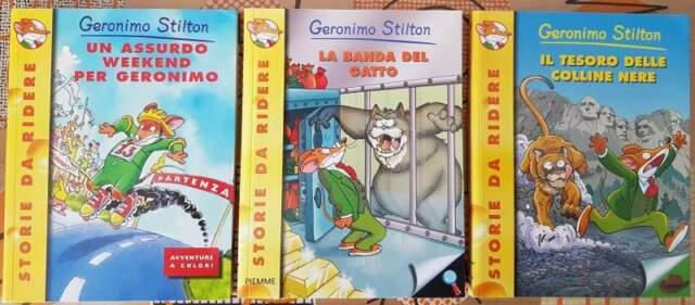 Collezione libri di Geronimo Stilton