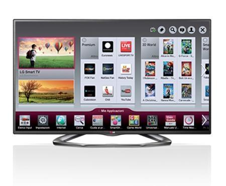 TV 47 LED BLACK SMART TV LG47LM620