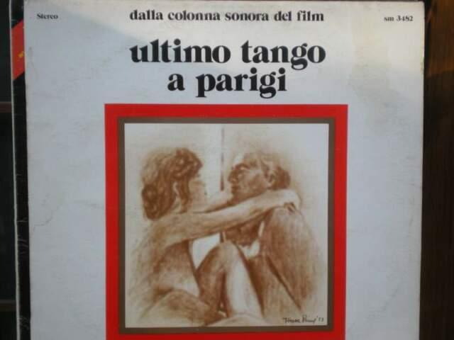 Ultimo tango a parigi 33 giri