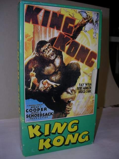 Vhs KING KONG