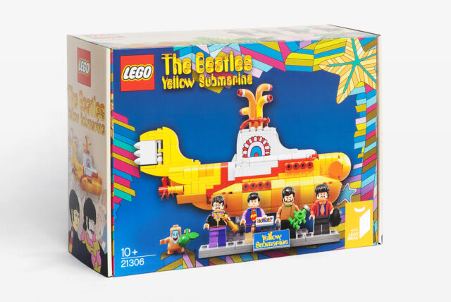 Lego The Beatles Yellow Submarine  anno  (MISB)