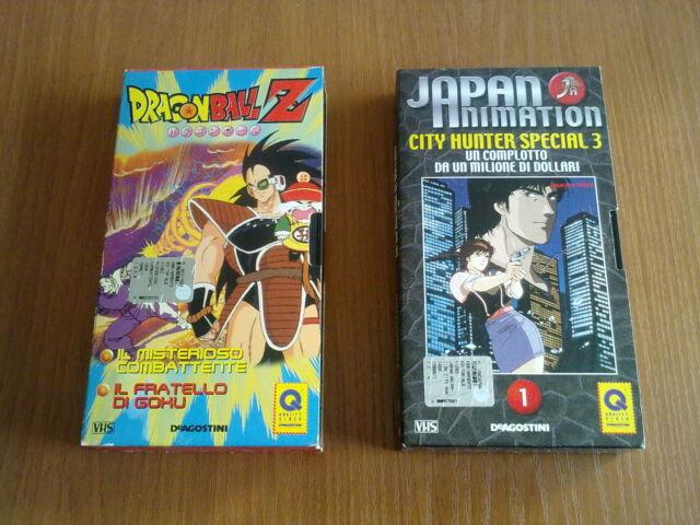 Lotto 2 VHS misti