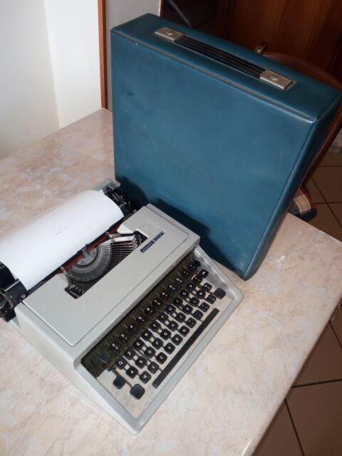 Macchina scrivere vintage Olivetti funzionante
