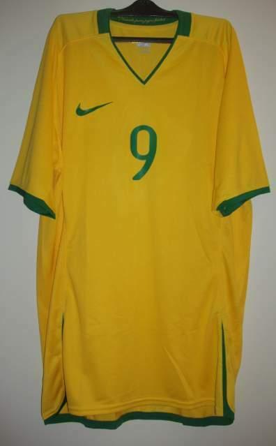 Brasile match worn pato olimpiadi nike