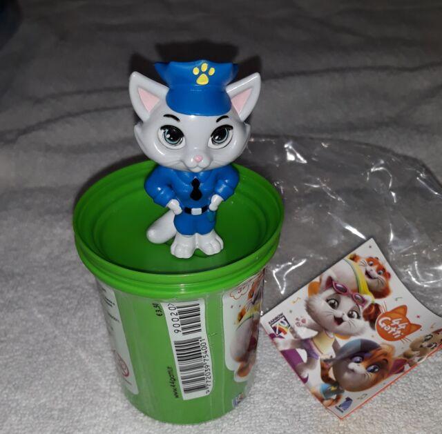 Gatto, gatto poliziotto dei 44 gatti bidoncino