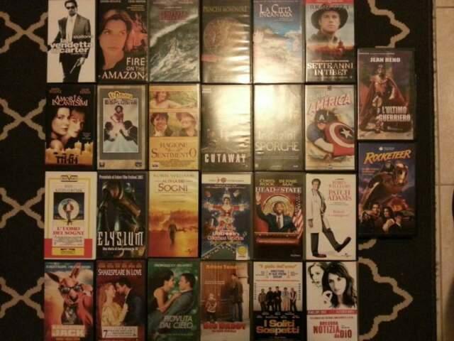 26 Film in VHS a meno di 1 euro cad.
