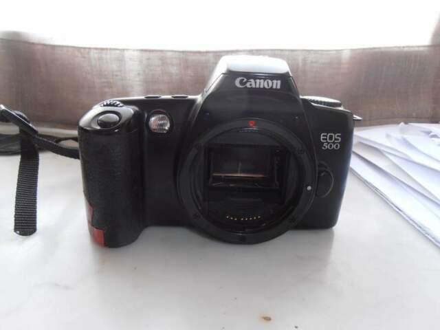 Corpi macchina analogica Canon EOS QD + EOS 500
