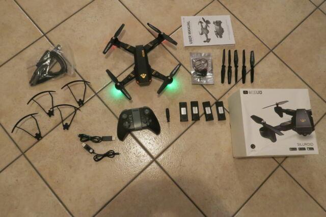 Drone visuo xs809w siluroid