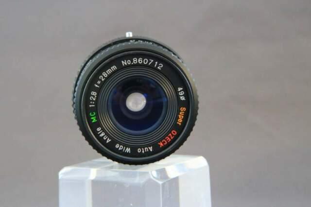 Obiettivo Ozeck Attacco Canon FD 28mm 2.8