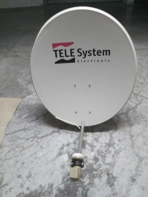 kit parabola telesystem ovale 85 x 57 cm lnb universale.