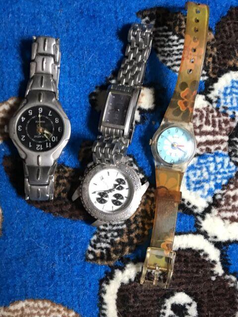 Stock 4 orologi vintage anni 90 da collezione