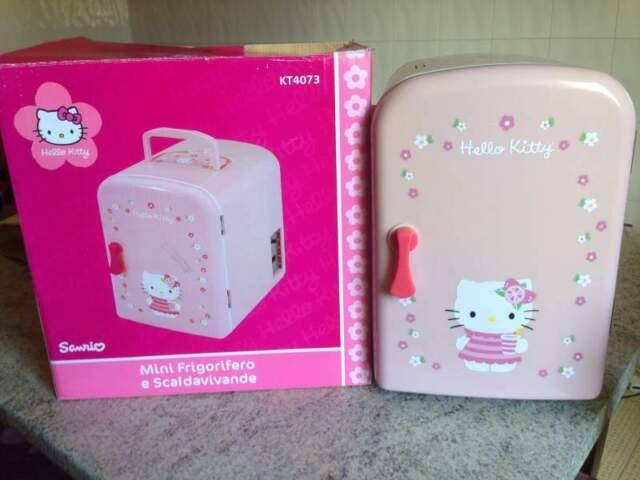 Hello Kitty mini frigorifero e scaldavivande nuovo