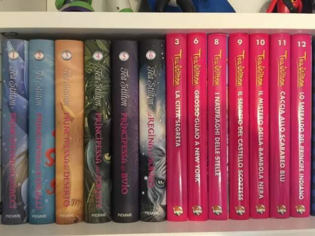 Tea Stilton 13 libri per ragazzi/e
