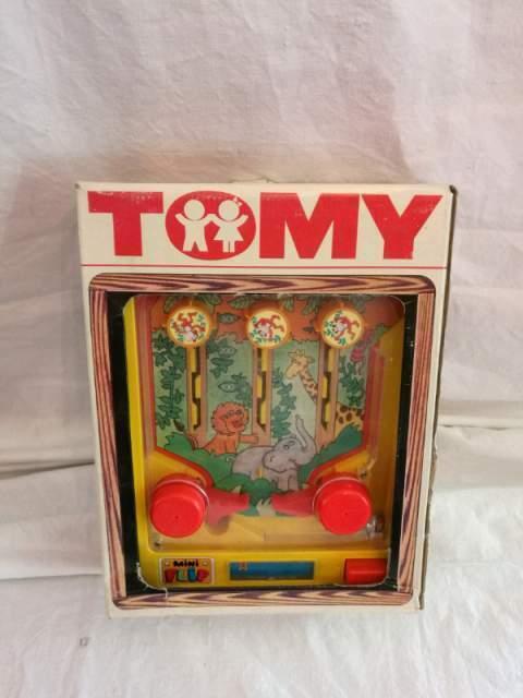 Giocattolo TOMY mini flip, anni '70