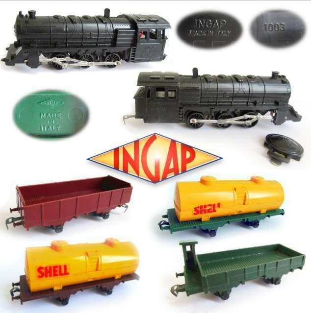 ' Locomotiva  e 4 vagoni, Ingap - Made in Italy