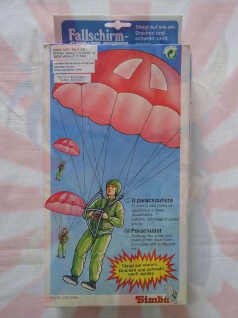 Paracadutista Simba Toys Giocattolo Vintage