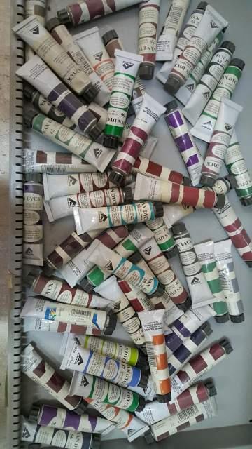 Tubi di colore ad olio