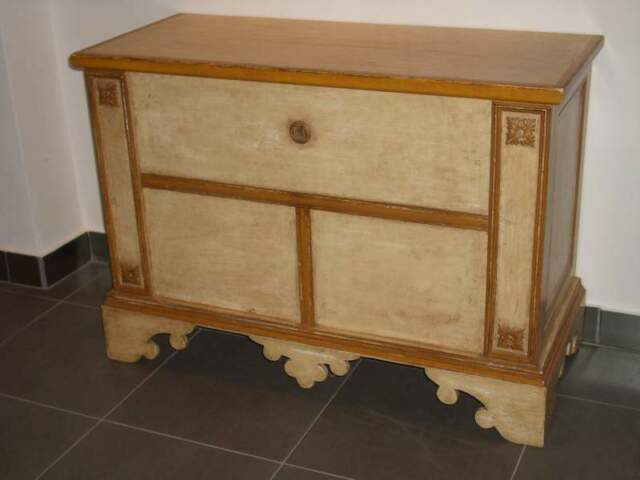 Cassapanca Provenzale in legno laccato