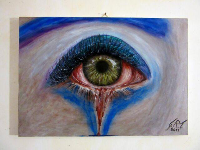 Dipinto ad olio su tela (50 cm * 35 cm)