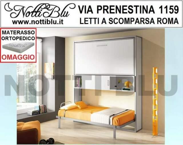Letti a Scomparsa _ Letto castello orizzontale Materassi