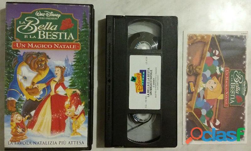 VHS LA BELLA E LA BESTIA WALT DISNEY I CLASSICI