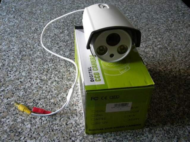 Telecamera di videosorveglianza a infrarossi a 2 led
