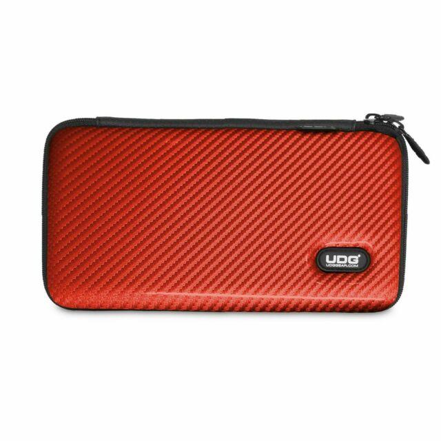 UDG Creator Cartridge Hardcase Red PU Custodia Porta Testine