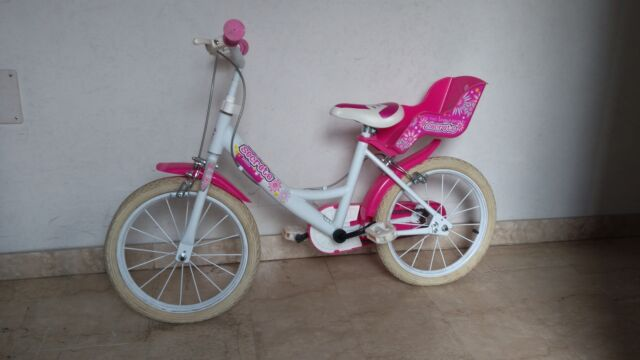 "Bicicletta bambina ruote 14"""