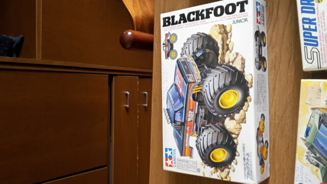 Mini 4wd Black Foot Tamiya