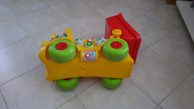 Sansone il camion chiacchierone Clementoni Funzionante