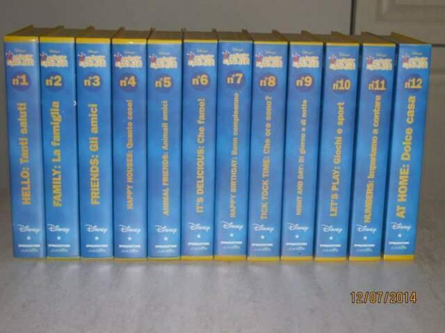VHS Corso Inglese Magic English DeAgostini