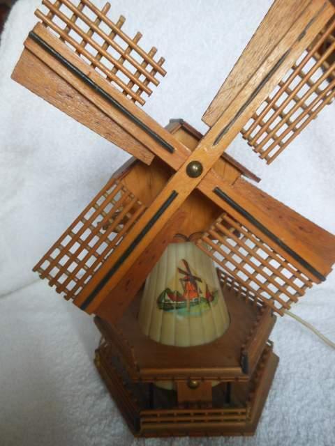 Mulino a vento Lampada vintage