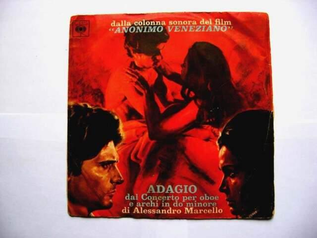 45 giri del -orchestra di Filadelfia-anonimo veneziano