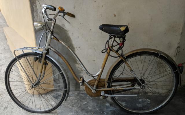 Bicicletta da donna marca Olympia.