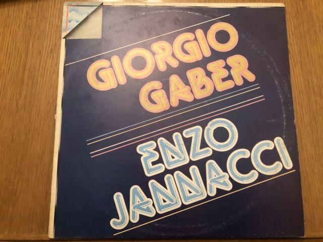Giorgio Gaber Enzo Jannacci LP