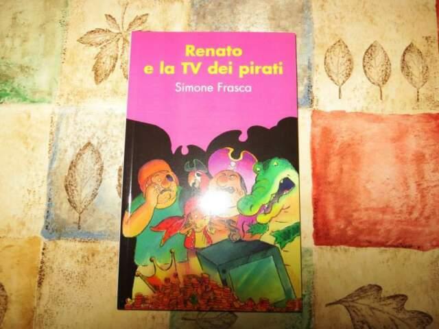 Libro per bambini: Renato e la TV dei pirati