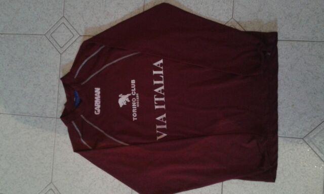 Maglia torino calcio club vigezzo via italia garman taglia