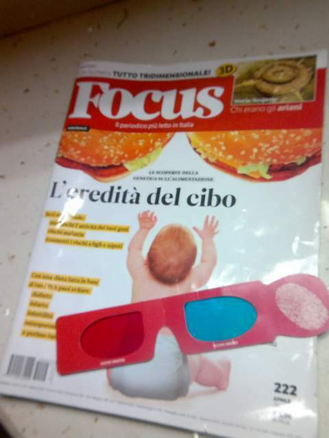 Riviste Airone, Focus, AltroConsumo, Gambero Rosso