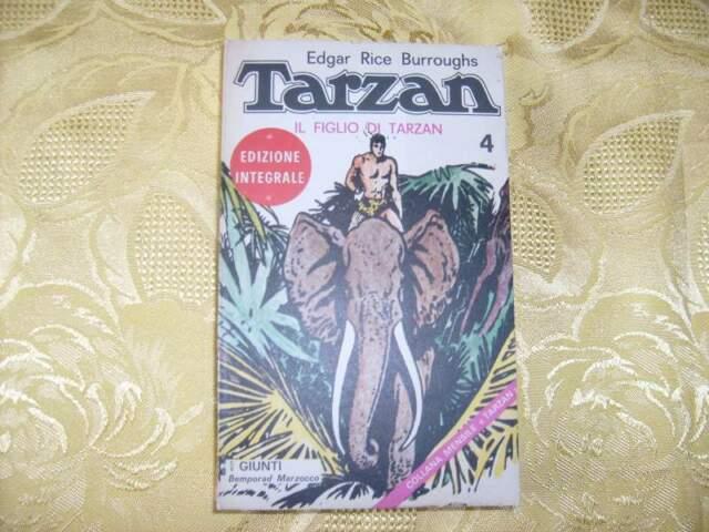 Tarzan. Il figlio di Tarzan - Giunti -