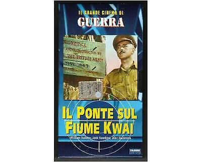 VHS-Il ponte sul fiume Kwai Originale Guerra