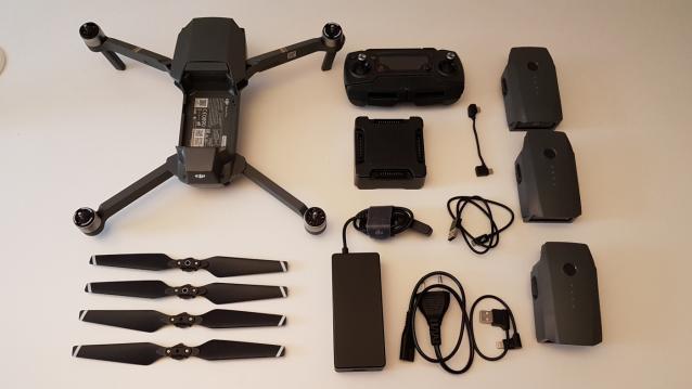 Drone DJI Mavic Pro 4k, perfetto + molti accessori